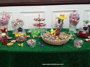 Bodas Mesas dulces Restaurante El Duque seewt Candy