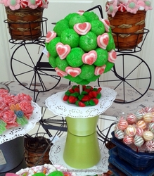 Bodas Candy Bar Restaurante El Duque mesas dulces