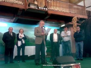 Restaurante El Duque homenaje 2014