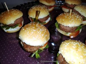 Mini Hambruguesas Restaurante El Duque